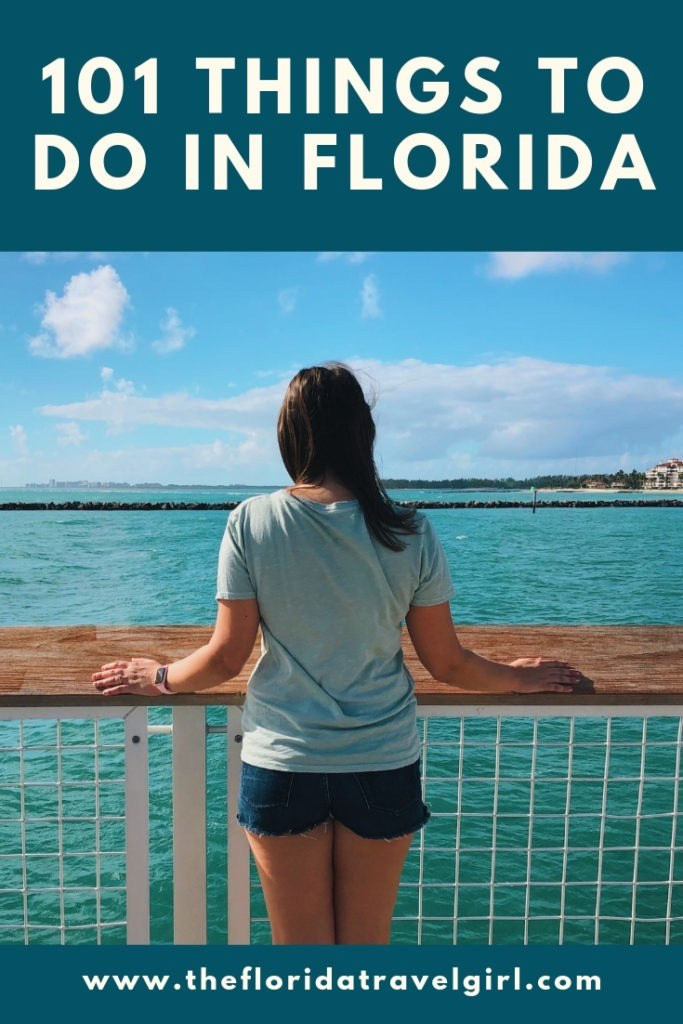 101 Things to do in Florida Bucket List
