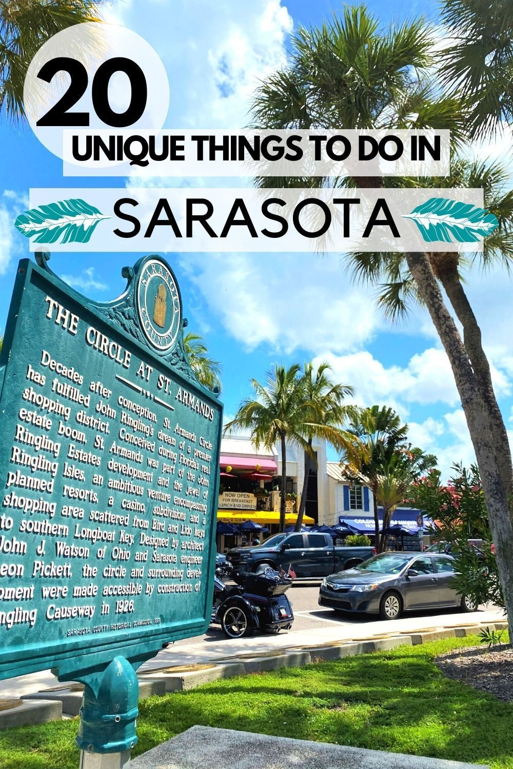unique things to do in sarasota